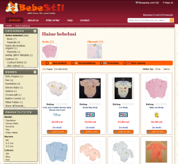 Virtual store Bebestil - study case